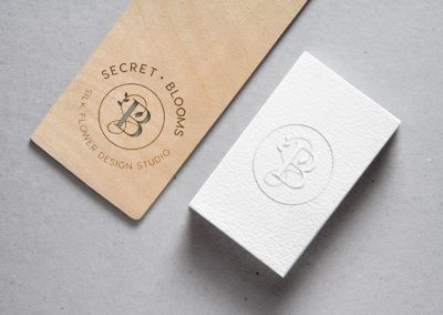 Secret Blooms Gift Tag