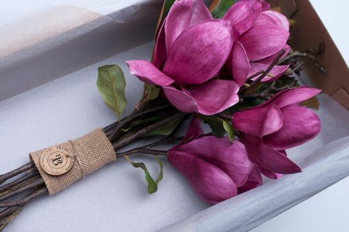 Secret Blooms Blushing Ava Artificial Magnolia