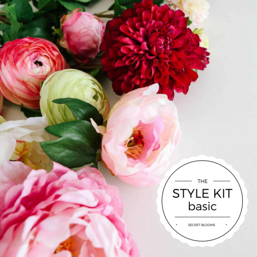 Secret Blooms Starter Digital Media Style Kit