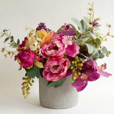 Secret Blooms Maya Artificial Peony and Rose