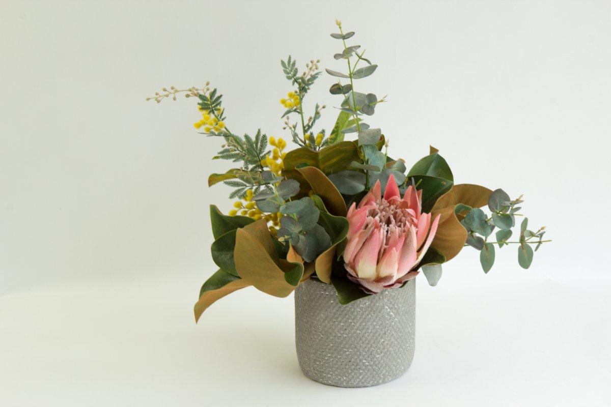 Artificial Australian Native Flowers Order Online Secret Blooms Bridgit Grey