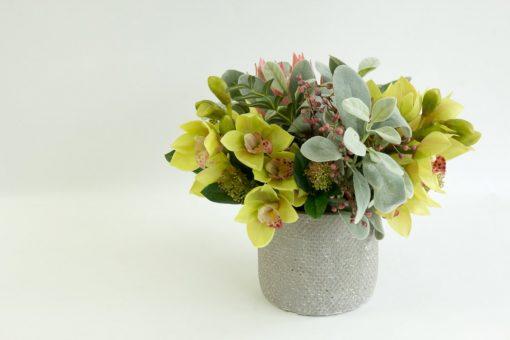 Secret Blooms Harriet Artificial Cymbidium Orchid