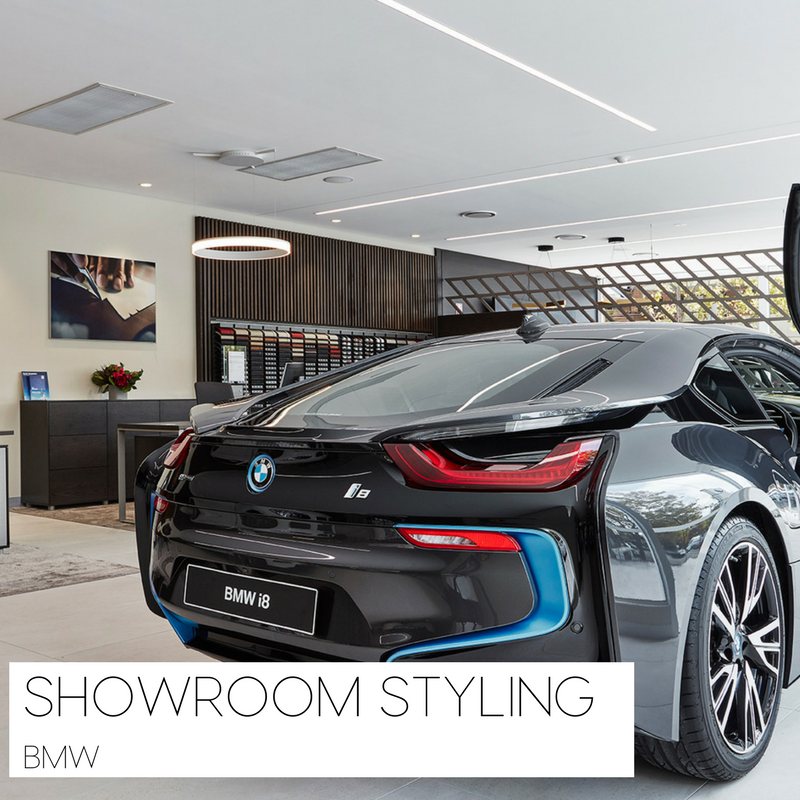 Luxury Showroom Flowers Case Study
