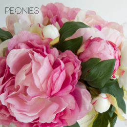 Buy artificial flowers online artificial flowers shop secret artificial peonies mightylinksfo Gallery