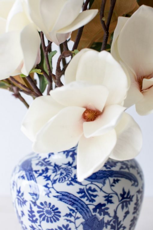 Secret Blooms Artificial Flowering Magnolia