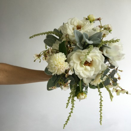 silk flowers bridal bouquets
