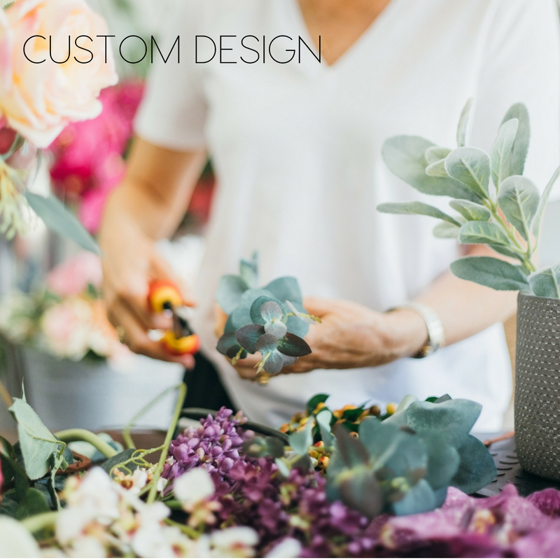 Artificial Flower Custom Design Service