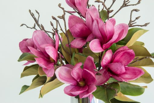 Secret Blooms Blushing Ava Artificial Magnolia