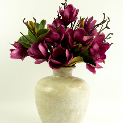 Secret Blooms Blushing Ava Latte Vase
