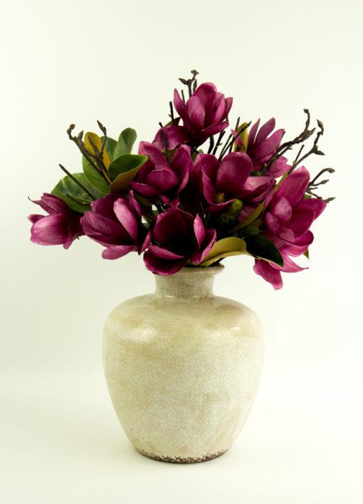 Secret Blooms Blushing Ava Latte Vase