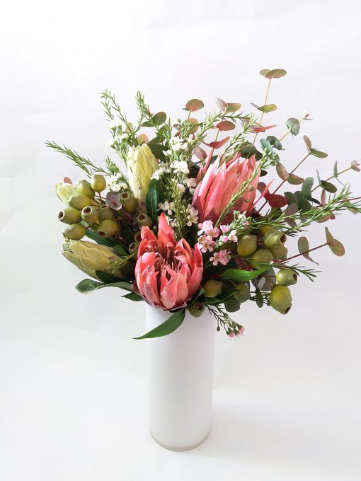 Artificial-Native-Flower-Arrangement-Bouquet