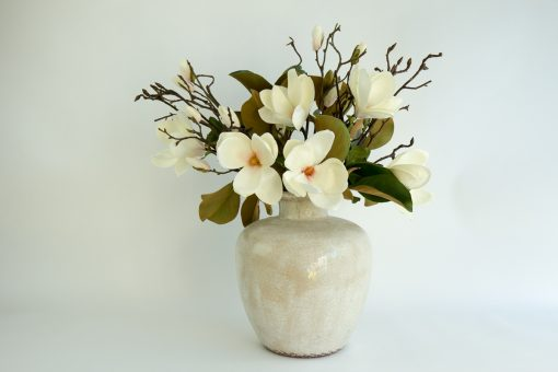 Secret Blooms Ava Artificial Magnolia Arrangement