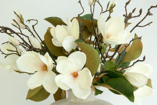 Secret Blooms Ava Artificial Flowering Magnolia