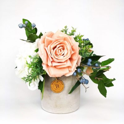 Secret Blooms Ottilie Artificial Rose and Hydrangea