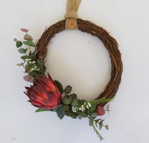 Secret Blooms Protea Wreath