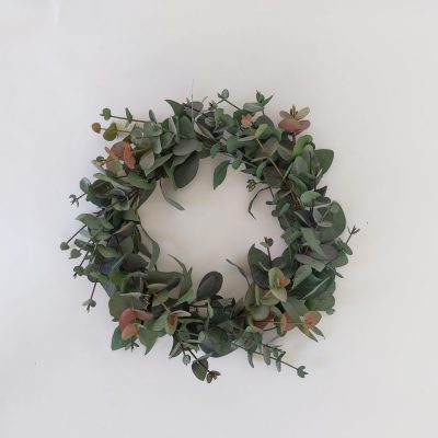 Secret Blooms Eucalyptus Wreath
