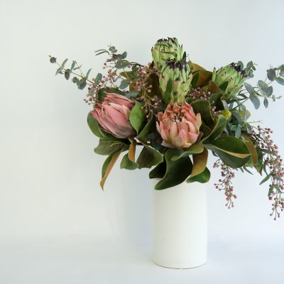 Blushing Nicole Secret Blooms Artificial Native Flower Arrangement