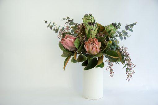 Blushing Nicole Secret Blooms Artificial Native Flower Arrangement