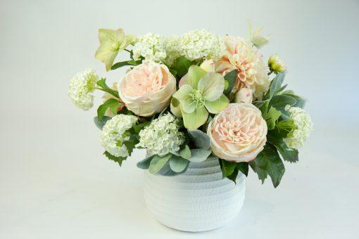 Secret Blooms Holly Faux Rose