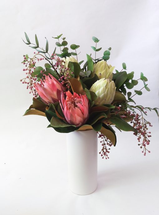 Large-artificial-native-flower-bouquet-arrangement