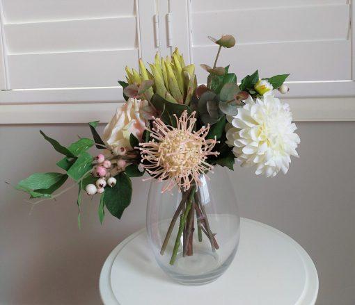 Secret Blooms Pippa Artificial Native and Rose arrangement