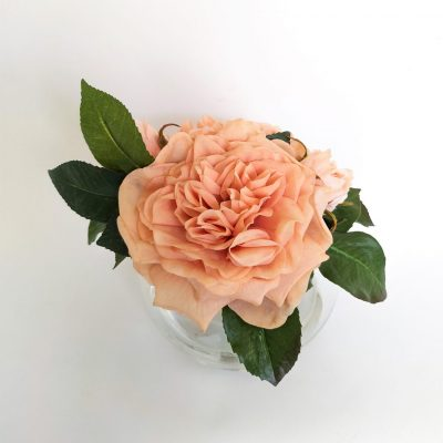 Secret Blooms Blushing Rosie real-touch garden roses