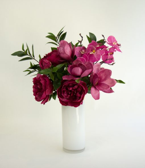 Secret Blooms Mira Artificial Peonies, Magnolia, Orchid
