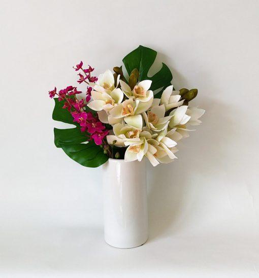 Secret_Blooms_Lola_Artificial_Tropical_Orchid_Arrangement