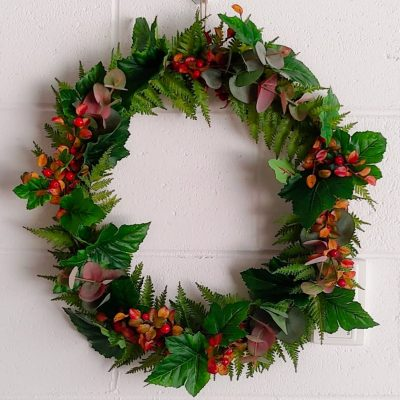 Secret_Blooms_Mixed_Greenery_Wreath