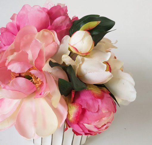 Secret-Blooms-Jackie-artificial-peony-table-arrangement