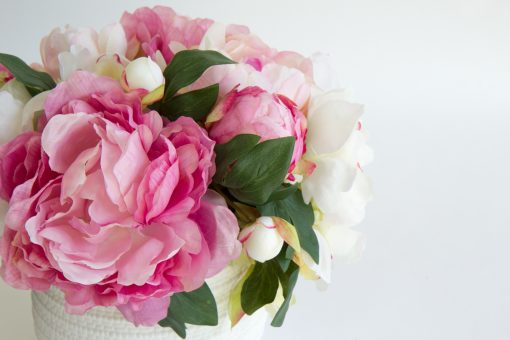Artificial-Peony-table-arrangement