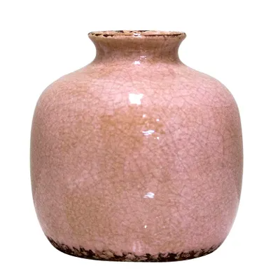 Rosa pot large pink ceramic vase