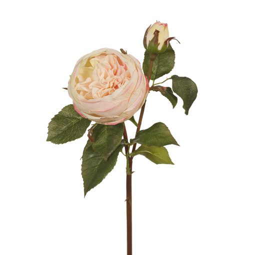 Real touch garden rose light pink