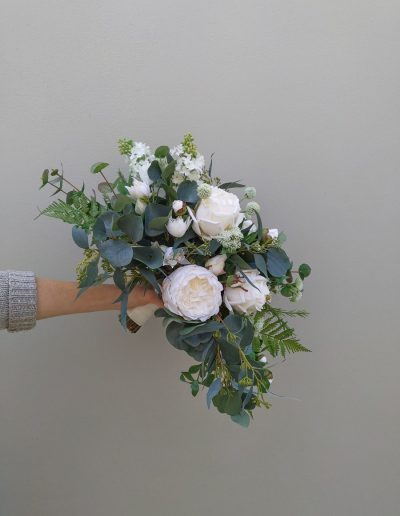 Rose artificial bouquet wedding