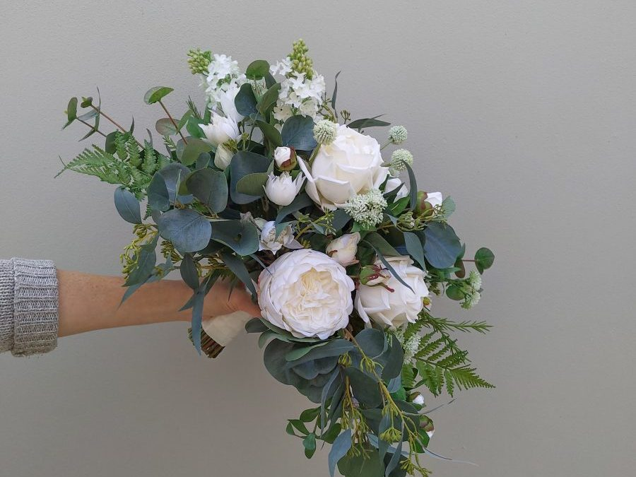 Rose artificial bouquet wedding