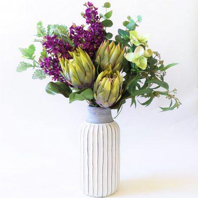 Protea-Lilac-Bright-Native-Tall-Arrangement