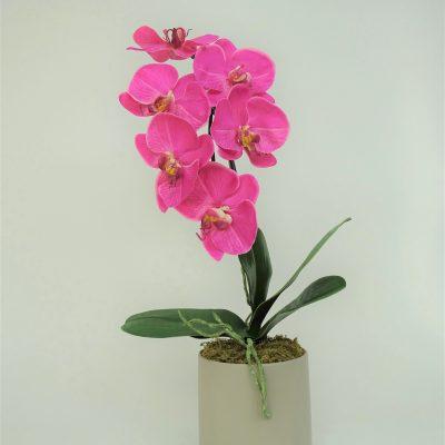 Artficial-Phalaenopsis-Orchid-Fuschia