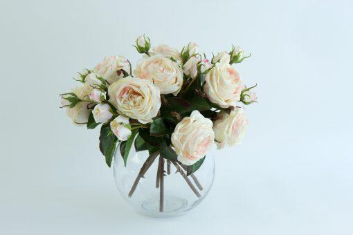 Real-touch-rose-fishbowl-vase-arrangement