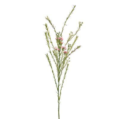 Faux-pink-wax-flower-stem