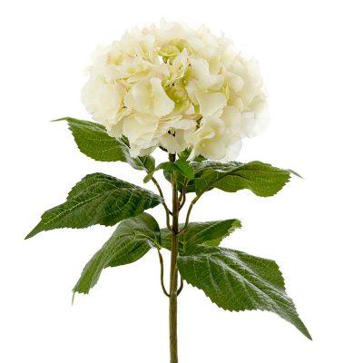 Artificial-Hydrangea-Cream-Stem