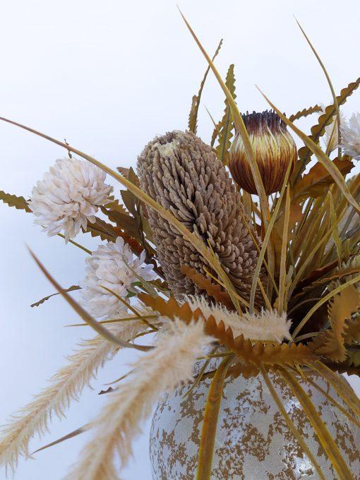 Faux-dried-look-arrangement