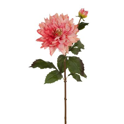 Real-Touch-Pink-Dahlia-Flower-Stem