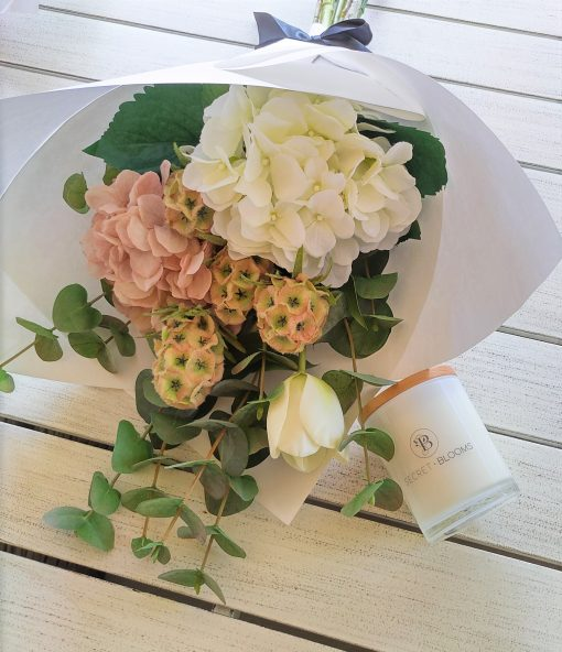Artificial-Hydrangea-Bouquet-Mothers-Day