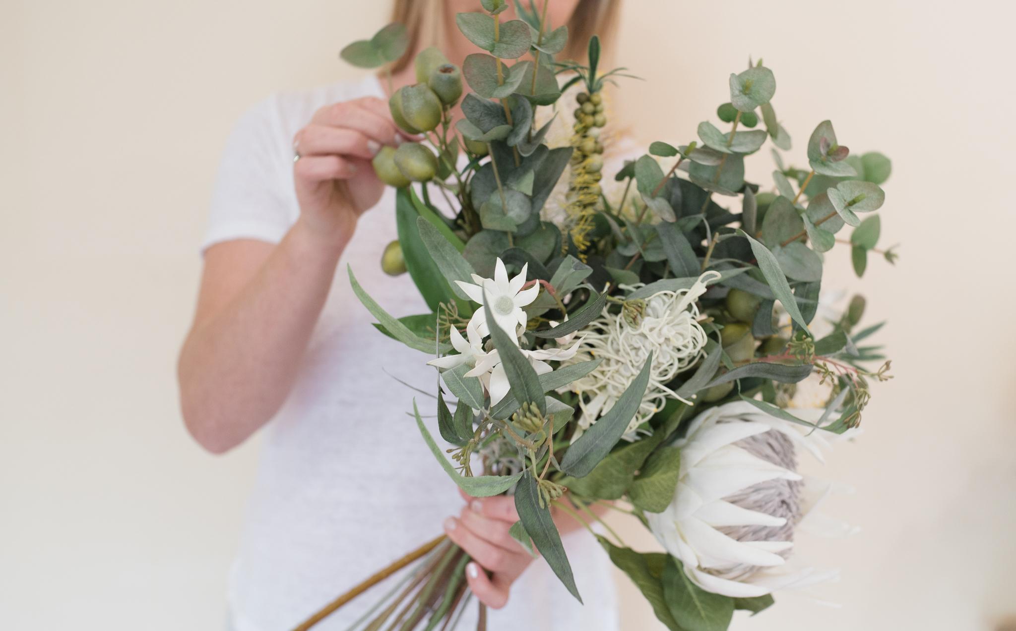 Faux-Flower-Bouquets