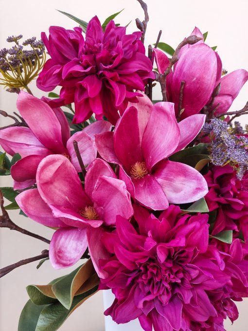 Artificial-Burgundy-Magnolia