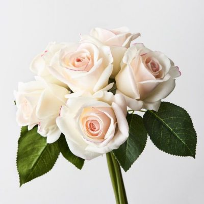 Artificial-real-touch-rose-bouquet