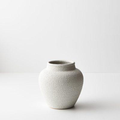 white-ceramic-textured-vase