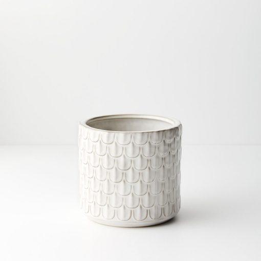 Ivory-ceramic-plant-pot