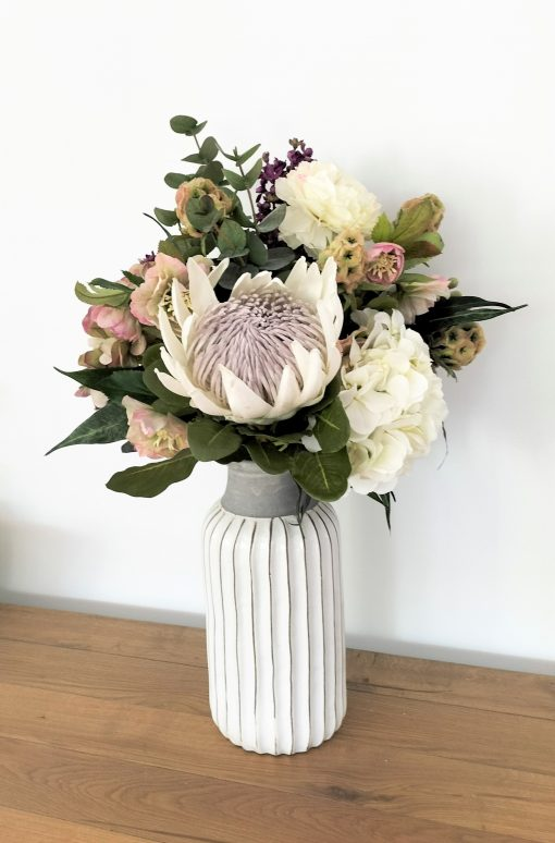Real-touch-Hydrangea-Bouquet