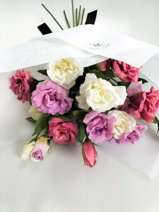 Lisianthus-Bouquet
